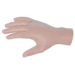 CRW127-5015XL - Memphis GloveSensaguard Powder-Free Vinyl Disposable Gloves, 5 Mil, X-Large, Clear