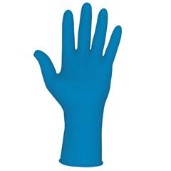 CRW127-5049M - Memphis GloveDisposable Latex Gloves, Textured Grip, Powder Free, 11 Mil, Medium, Blue