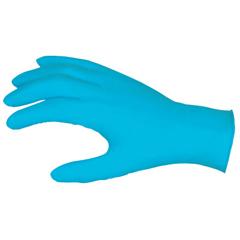 CRW127-6025M - Memphis GloveNitrile Disposable Gloves, Powdered; Textured, 8 Mil, Medium, Blue