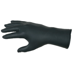 CRW127-6062XL - Memphis GloveNitrile Disposable Gloves, Powder Free; Textured, 6 Mil, X-Large, Black