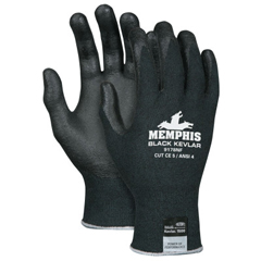 CRW127-9178NFXL - Memphis Glove9178Nf Cut Protection Gloves, X-Large, Nylon With Kevlar, Black