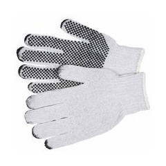 MMG127-9650LM - Memphis GlovePVC 1-Sided Dot String Knit Gloves