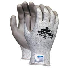 CRW127-9672S - Memphis GloveDyneema Blend Gloves, Small, Salt-And-Pepper/Gray