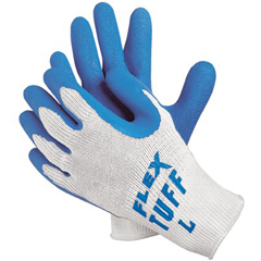 MMG127-9680L - Memphis GloveFlex-Tuff 10 Gage Blue Latex Coated Palm Gloves, Large