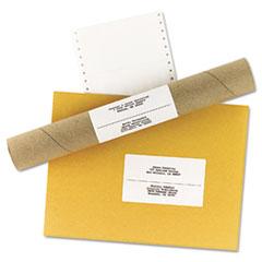 AVE4076 - Avery® Dot Matrix Printer Mailing Labels