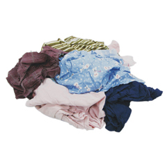 HSC135-25 - Hospeco - Recycled Colored T-Shirt Rags