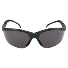 CRW135-KD112 - CrewsKlondike Protective Eyewear, Gray Polycarbonate Lenses, Black Frame