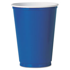 SLOPS10BPK - Solo Party 10 oz. Plastic Cold Drink Cups