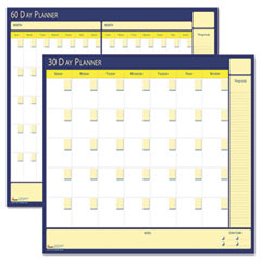 NSN5850980 - AbilityOne™ 30-Day/60-Day Undated Reversible/Erasable Flexible Planner
