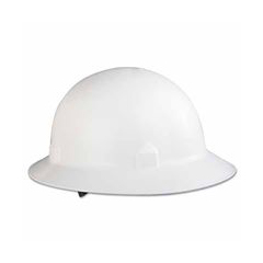 ORS138-20697 - JacksonHat Block Head Fullbrim White Ratchet