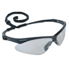 KCC138-25685 - JacksonV30 Nemesis Safety Eyewear, Indoor/Outdoor Polycarbon Anti-Scratch Lenses, Black