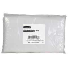KIM138-44480 - Kimberly Clark ProfessionalKleenGuard® A40 Liquid/Particle Sleeve Protectors, 18, Elastic Closure, White
