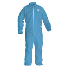 KIM138-45313 - Kimberly Clark ProfessionalKleenGuard® A65 Flame Resistant Coveralls, Zipper Front, Open Wrist/Ankles, Lg
