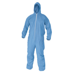 KIM138-45326 - Kimberly Clark ProfessionalKleenGuard® A65 Flame Resistant Coveralls, Hood, Elastic Wrists/Ankles, 3XL
