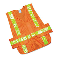 NSN5984873 - AbilityOne™ Safety Vest--Class 2 ANSI 107-2010 Compliant