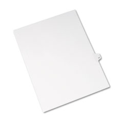 AVE01017 - Avery® Individual Legal Dividers Side Tab