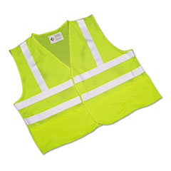 NSN5984870 - AbilityOne™ Safety Vest--Class 2 ANSI 107-2010 Compliant