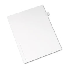 AVE01021 - Avery® Individual Legal Dividers Side Tab