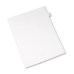 AVE01047 - Avery® Individual Legal Dividers Side Tab