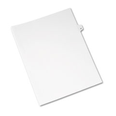 AVE01057 - Avery® Individual Legal Dividers Side Tab