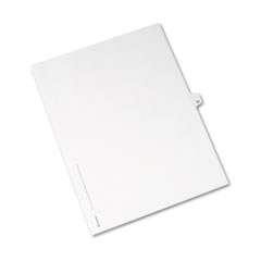 AVE01063 - Avery® Individual Legal Dividers Side Tab
