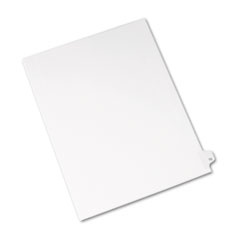 AVE01075 - Avery® Individual Legal Dividers Side Tab