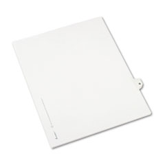 AVE01407 - Avery® Individual Legal Dividers Side Tab
