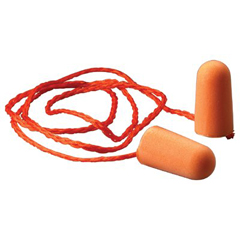 MMM1110 - 3M Corded Foam Earplugs