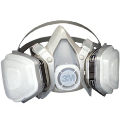 3MO142-51P71 - 3M OH&ESD5000 Series Half Facepiece Respirators