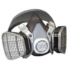 3MO142-5301 - 3M OH&ESD - 5000 Series Half Facepiece Respirators