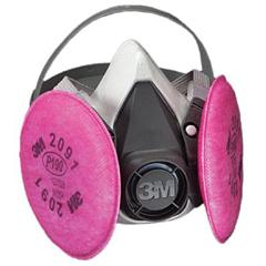 3MO142-6191 - 3M OH&ESD - 6000 Series Half Facepiece Respirator Assemblies