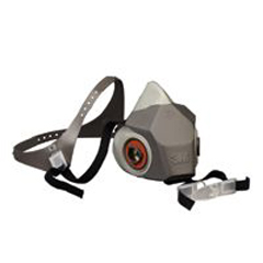 3MO142-6200DD - 3M OH&ESD6000 Series Half Facepiece Respirators