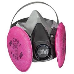 MMM6291 - 6000 Series Half Facepiece Respirator Assemblies