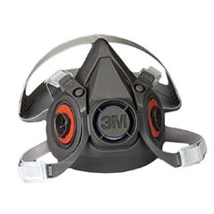 MMM6100 - 6000 Series Half Facepiece Respirators