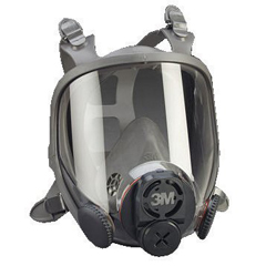 3MO142-6900DIN - 3M OH&ESD6000 Series Full Facepiece Respirators