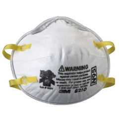 ORS142-8210 - 3MN95 Maint. Free Particulate Respirator Red