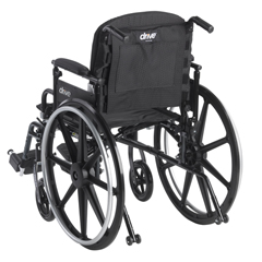 14300 - Drive Medical - Adjustable Tension Back Cushion for 16-21 Wheelchairs