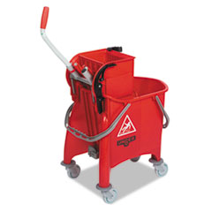 UNGCOMBR - Side-Press Restroom Mop Bucket Combo