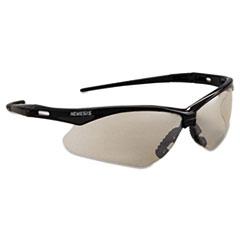 KCC25685 - KleenGuard Nemesis Safety Glasses, Black Frame, Indoor/Outdoor Lens