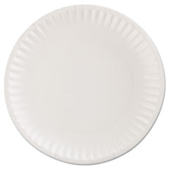 AJMCP9GOEWH - Gold Label Coated Paper Plates