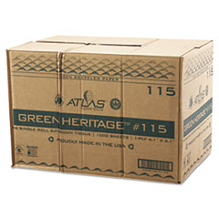 APM115GREEN - Green Heritage Bathroom Tissue