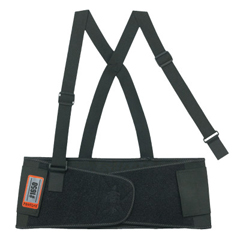 ERG150-11092 - Ergodyne - Proflex 1650 Economy Elastic Back Supports, Small, Black