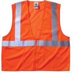 ERG150-21043 - ErgodyneGLoWEAR® 8210Z Class 2 Economy Vests