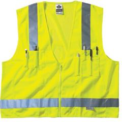 ERG150-21425 - ErgodyneGLoWEAR® 8250Z Class 2 Surveyor Vest