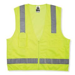 ERG150-24025 - ErgodyneGLoWEAR® 8249Z Class 2 Economy Surveyors Vest