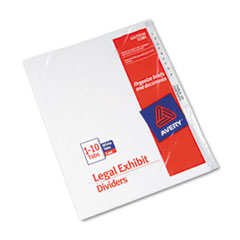 AVE11381 - Avery® Premium Collated Legal Dividers Side Tab