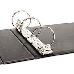 UNV35423 - Universal® Wide Base Round Ring Binder with Label Holder
