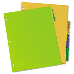 AVE11331 - Avery® Preprinted Plastic Dividers