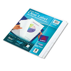 AVE11439 - Avery® Index Maker® Extra-Wide Label Dividers