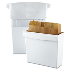 RCP614000 - Rubbermaid® Commercial Sanitary Napkin Receptacle with Rigid Liner